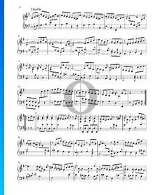 Partita in E Minor, BWV 1002: 8. Double