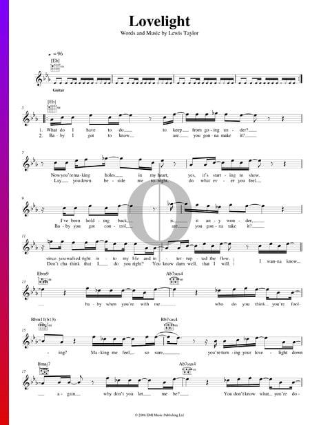 Lovelight Sheet Music