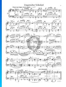 Trois Airs Populaires Hongrois BB 80b, Sz. 66: No. 2 Allegro non troppo, un poco rubato