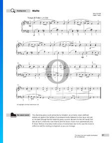 Waltz,  Sz. 53 No. 18