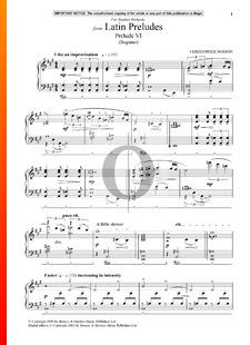 Latin Preludes 1: Prelude 6 (Beguine)