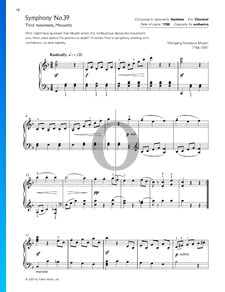 Sinfonía n.º 39 en mi bemol mayor, KV 543: 3. Minueto Allegretto (Trío)