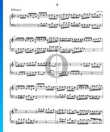 Allegro C Major, HWV 472