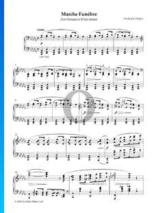 Sonata en si bemol menor, Op. 35 n.º 2: 3. Marcha fúnebre