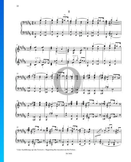 Sonate en Mi bémol mineur: 2. Andantino Partition