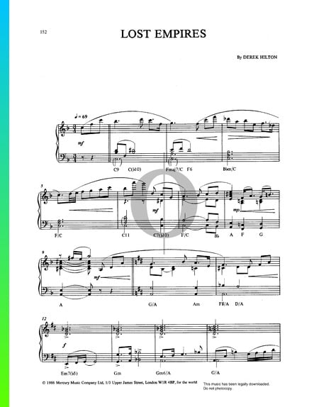 Lost Empires Sheet Music