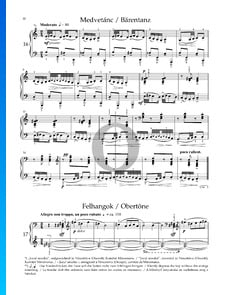 Sonatina BB 69, Sz. 55: n.º 2 Danza del oso