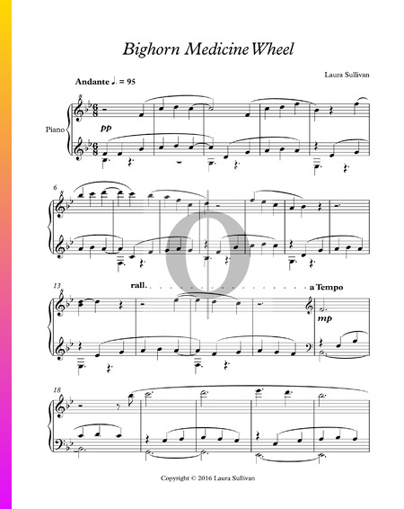 Bighorn Medicine Wheel Sheet Music
