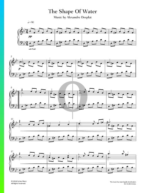 The Shape Of Water Sheet Music
