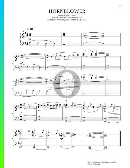 Hornblower Sheet Music