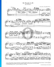 Klaviersonate Nr. 13 B-Dur, KV 333 (315c): 1. Allegro