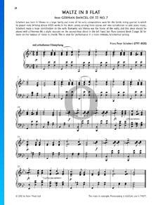 Valse en Si bémol Majeur, Op. 33, No. 7