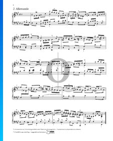 Suite Nr. 1 A-Dur, HWV 426: 2. Allemande