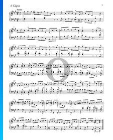 Suite n.º 5 en fa sostenido mayor, HWV 431: 4. Giga