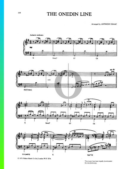 The Onedin Line Sheet Music