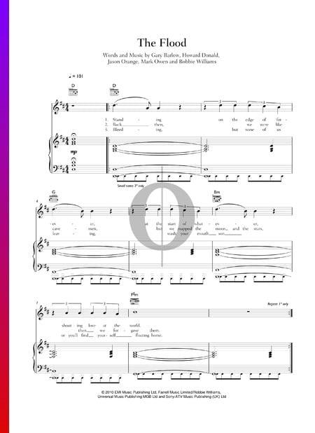 The Flood Musik-Noten