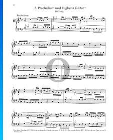 Prélude en Sol Majeur, BWV 902