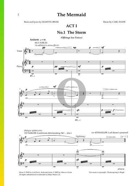 The Storm Sheet Music