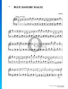 El Danubio azul, Op. 314