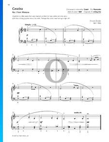 Miniaturas, Op. 75a: Cavatina n.º 1
