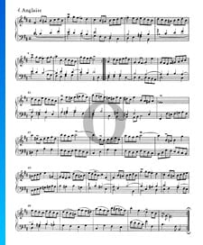 French Suite No. 3 B-flat Minor, BWV 814: 4. Anglaise