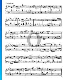 Suite francesa n.º 3 en si bemol menor, BWV 814: 4. Anglaise