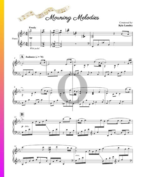 Morning Melodies Musik-Noten