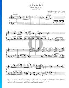 Sonata para piano n.º 15 en fa mayor, KV 533: 1. Allegro