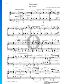 Berceuse, Op. 23 No. 3