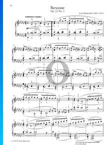 Berceuse, Op. 23 Nr. 3
