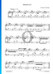 Minuet C-Dur, K 73b L 217