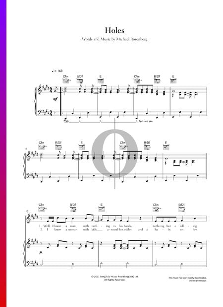 Holes Sheet Music