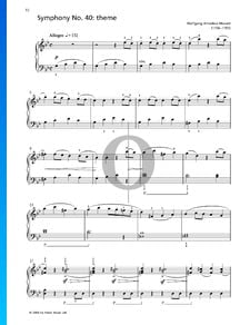40. Symphonie - Thema