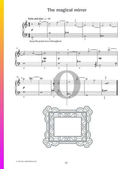 The magical mirror Sheet Music