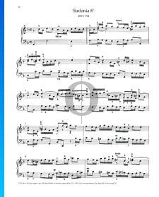 Sinfonia 8, BWV 794