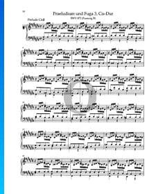 Prelude C-sharp Major, BWV 872