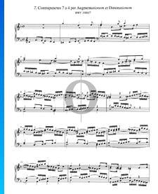 Contrapunctus 7, BWV 1080/7