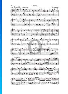 Fantasia, Douzaine II No.6: Tendrement, TWV 33:18