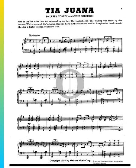 Tia Juana Sheet Music