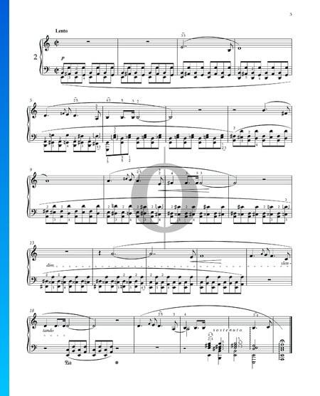 Prélude a-Moll, Op. 28 Nr. 2 Musik-Noten