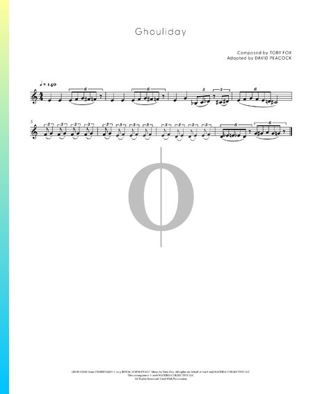 Ghouliday Sheet Music