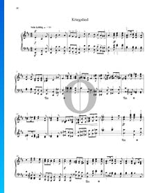 Canción de guerra, Op. 68 n.º 31