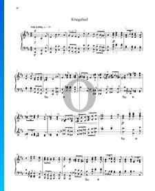 Kriegslied, Op. 68 Nr. 31