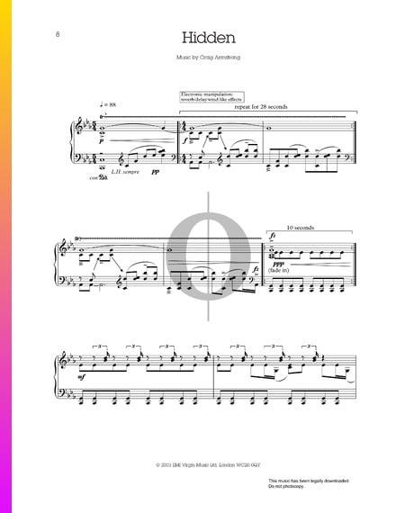 Hidden Sheet Music