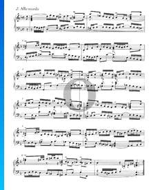 Suite inglesa n.º 6 en re menor, BWV 811: 2. Alemanda
