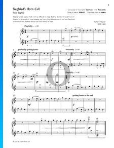 Siegfried, WWV 86 C: Siegfrieds Hornruf