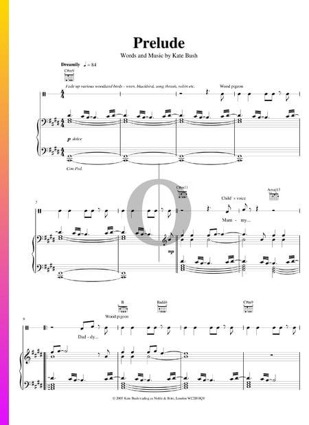 Prelude Musik-Noten