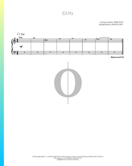 Cliffs Sheet Music