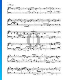 Suite n.º 5 en fa sostenido mayor, HWV 431: 3. Allegro