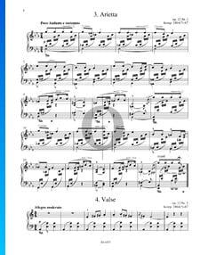 Arietta, Op. 12 n.º 1